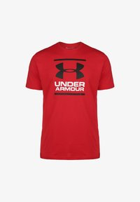 Under Armour - FOUNDATION  - Print T-shirt - red / white - 0