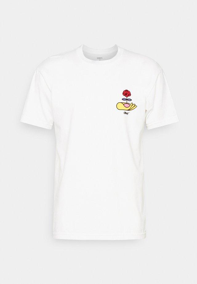PLANT SEED - Print T-shirt - white