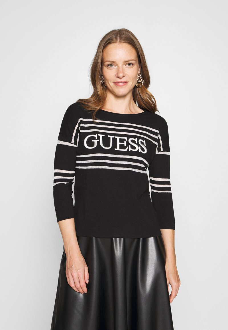 Guess - A$AP ROCKY ALESSIA - Jumper - black and white