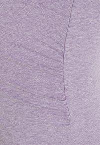 Anna Field MAMA - 3 PACK - Basic T-shirt - white/mottled light green/mottled lilac - 5