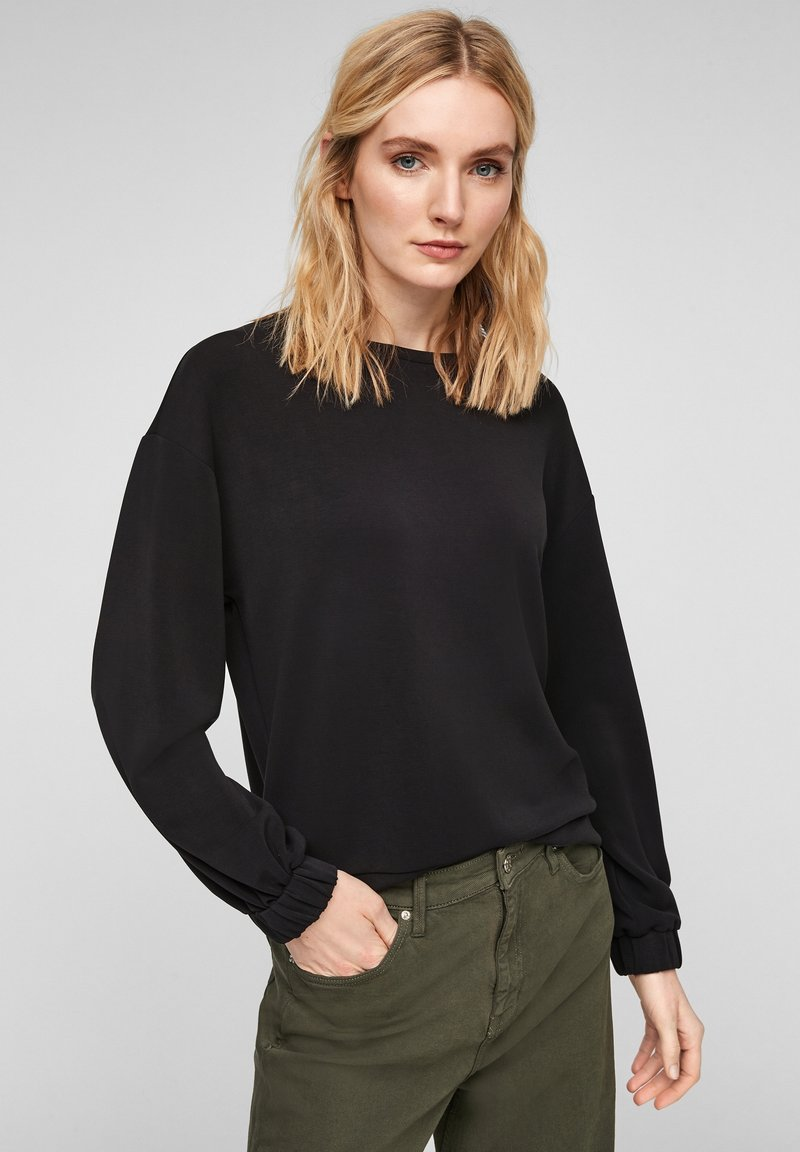 s.Oliver - Sweatshirt - black