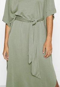 Monki - HESTER DRESS - Jerseykjole - kahki green - 4