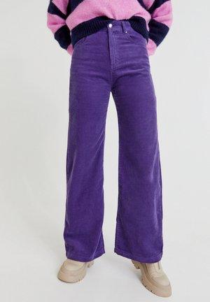 Broek - mottled purple