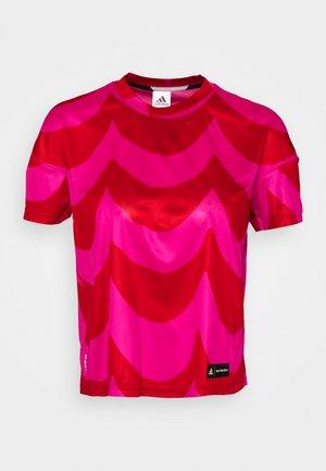 MARIMEKKO TEE - Sports shirt - vivid red