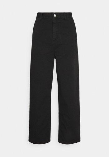 ARMANDA PANT - Straight leg jeans - black
