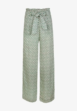 Trousers - green with
