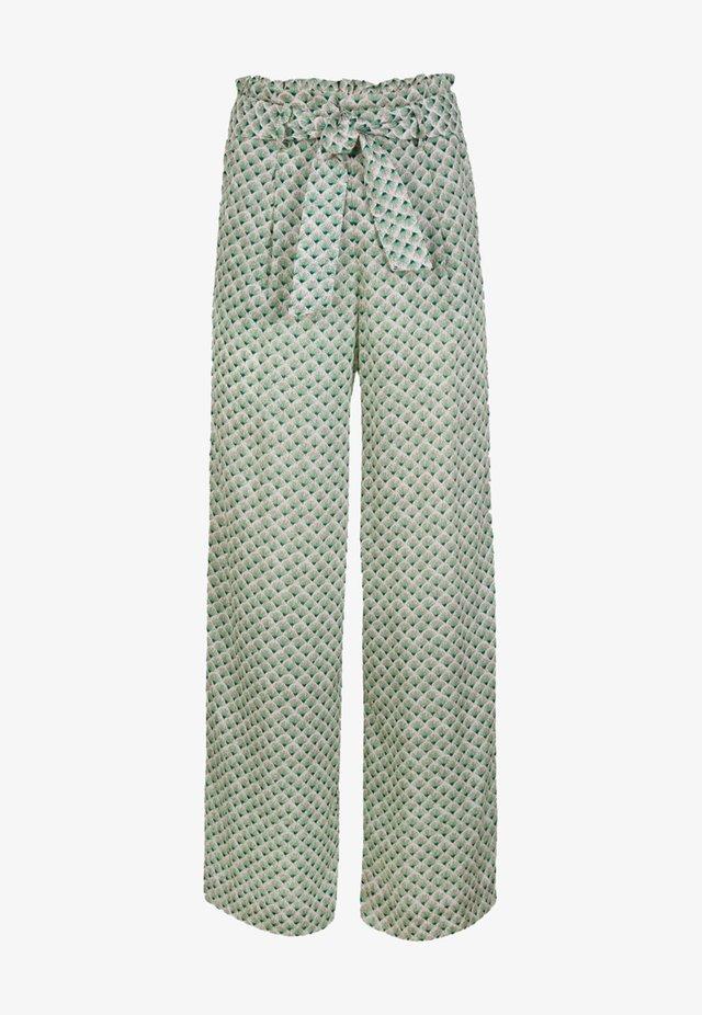 Pantalon classique - green with