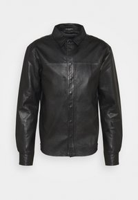 Bruuns Bazaar - BARLEY SHIRT - Košile - black - 4