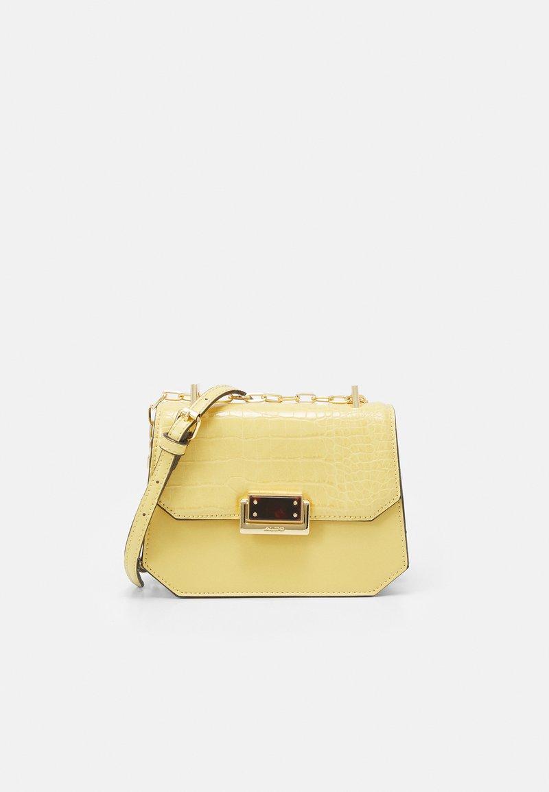 ALDO - FELLE - Across body bag - light yellow