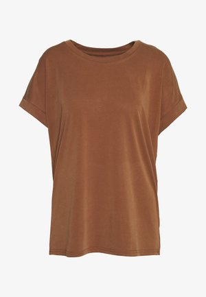 KAJSA - T-shirt basic - friar brown