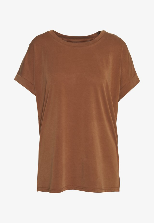 KAJSA - T-shirt - bas - friar brown
