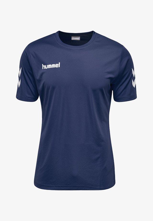 CORE - Print T-shirt - marine