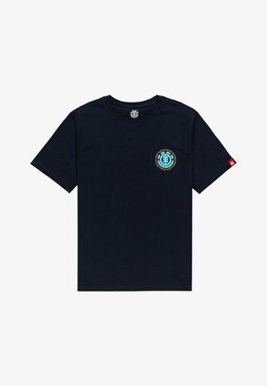 SEAL  - T-shirt imprimé - eclipse navy