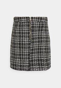 New Look - CHAIN MINI SKIRT - Mini skirt - black - 7