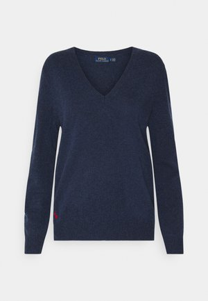 CLASSIC LONG SLEEVE - Svetr - boathouse navy