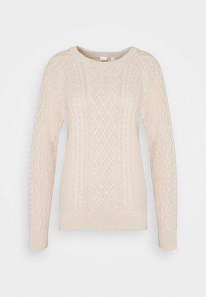 CABLE CREW - Pullover - dull rose