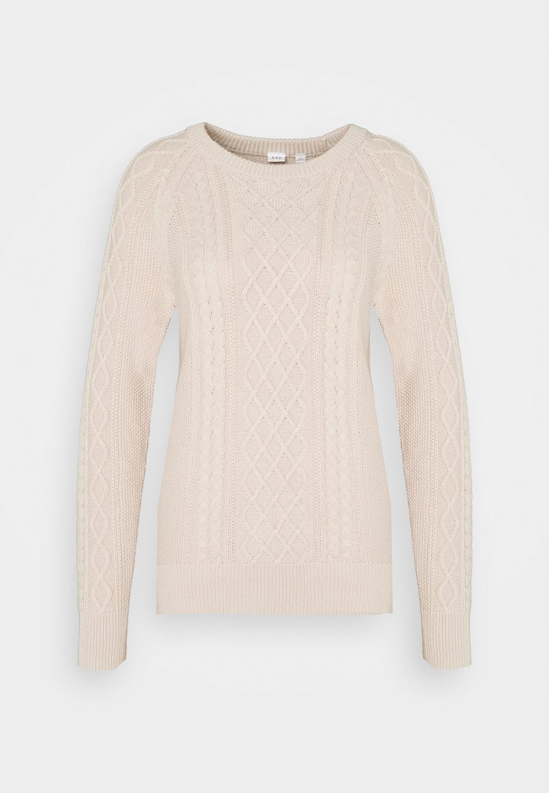 GAP - CABLE CREW - Sweter - dull rose