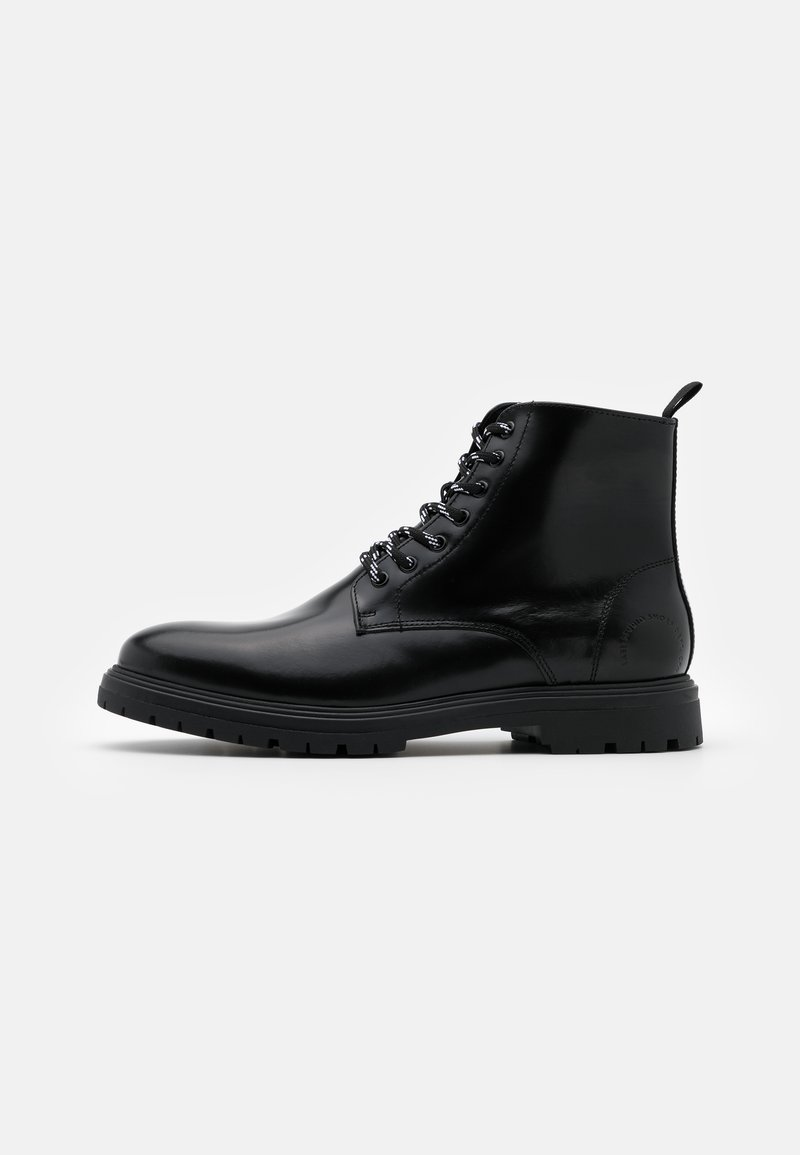 LAST STUDIO - CAIO POLIDO - Lace-up ankle boots - black