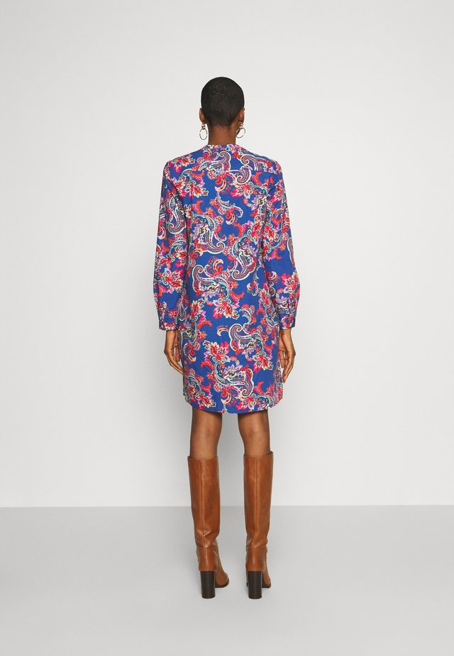 Day dress - blue/multi-coloured