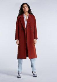 SET - Classic coat - maroon - 1