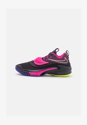 ZOOM FREAK 3 - Basketball shoes - cave purple/light lemon twist/pink blast
