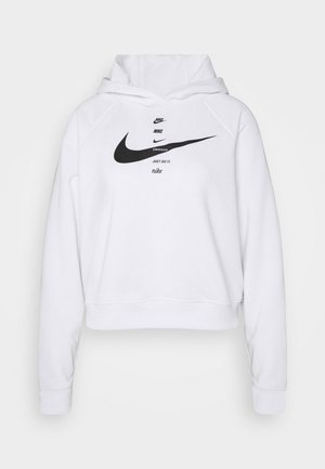 HOODIE - Jersey con capucha - white/black