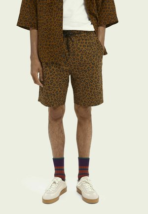 FAVE BEACH  - Shorts - mottled brown
