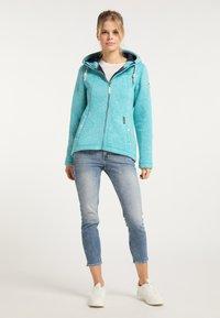 Schmuddelwedda - Winter jacket - türkis melange - 1