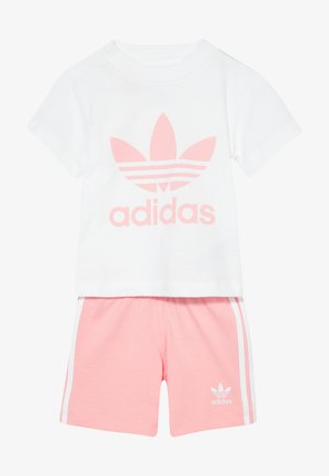 SET UNISEX - Shorts - white/light pink