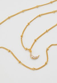 Astrid & Miyu - MYSTIC MOON NECKLACE - Necklace - gold-coloured - 4