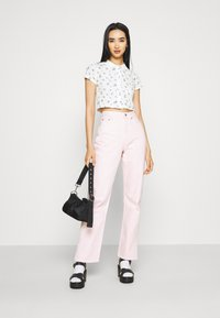 BDG Urban Outfitters - POINTELLE DITSY  - Polo shirt - white - 1