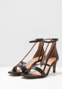 Shoe The Bear - ROSANNA STRAP - Sandals - black - 4