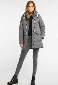 DreiMaster - Winter coat - grey melange - 1