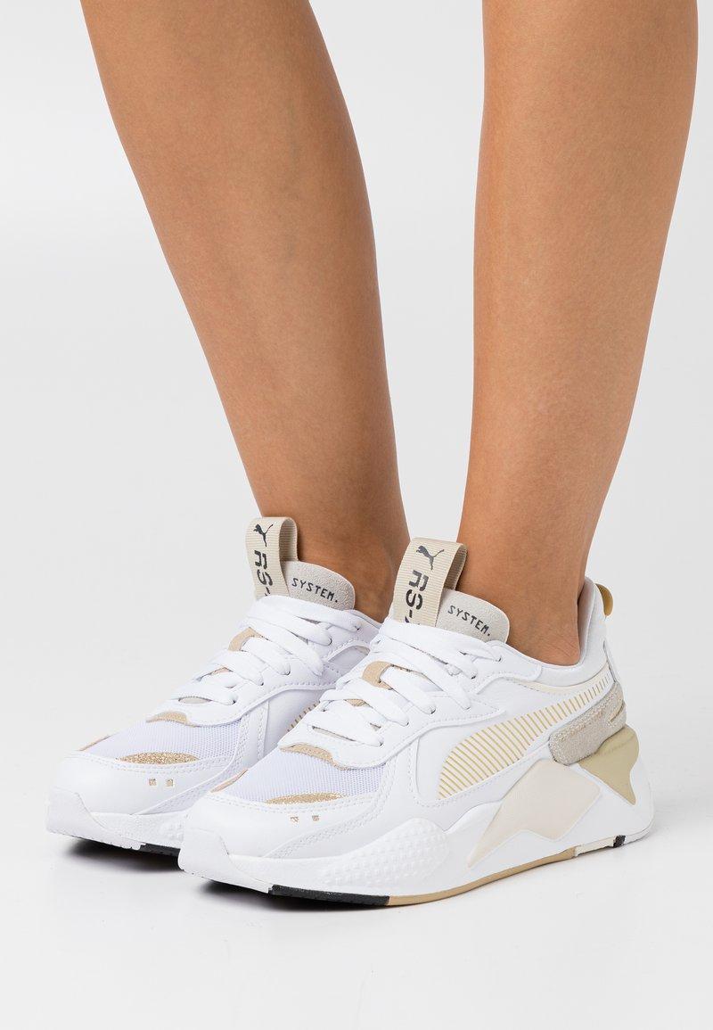 Puma - RS-X MONO  - Sneakers - white/team gold