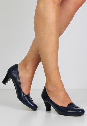 GIUSY - Classic heels - dark blue
