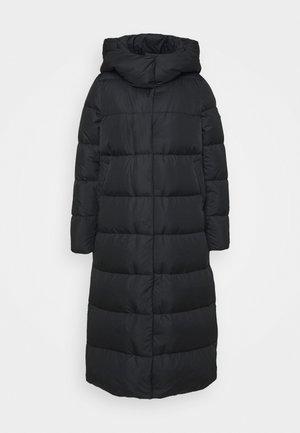 Down coat - schwarz