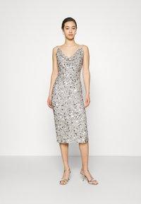 Lace & Beads - MARITA MIDI - Cocktail dress / Party dress - grey - 0