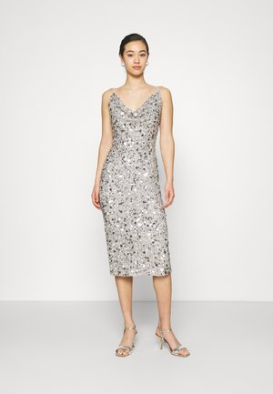 MARITA MIDI - Cocktail dress / Party dress - grey