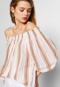 Superdry - DESERT OFF SHOULDER - Blouse - orange - 3