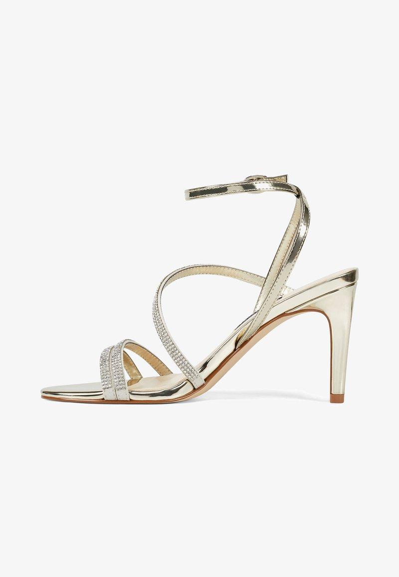 Nine West - High heeled sandals - gold
