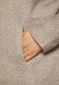 ONLY Carmakoma - CARSEDONA LIGHT COAT - Classic coat - walnut melange - 6
