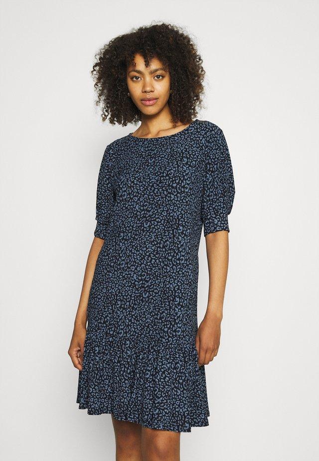 JDYGITTE SVAN DRESS - Kjole - black/blue