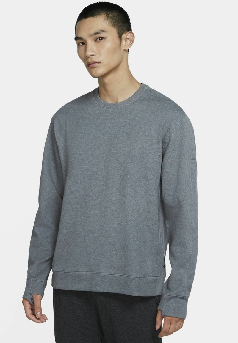 Nike Performance - DRY CREW RESTORE - Sweatshirt - iron grey/heather/black