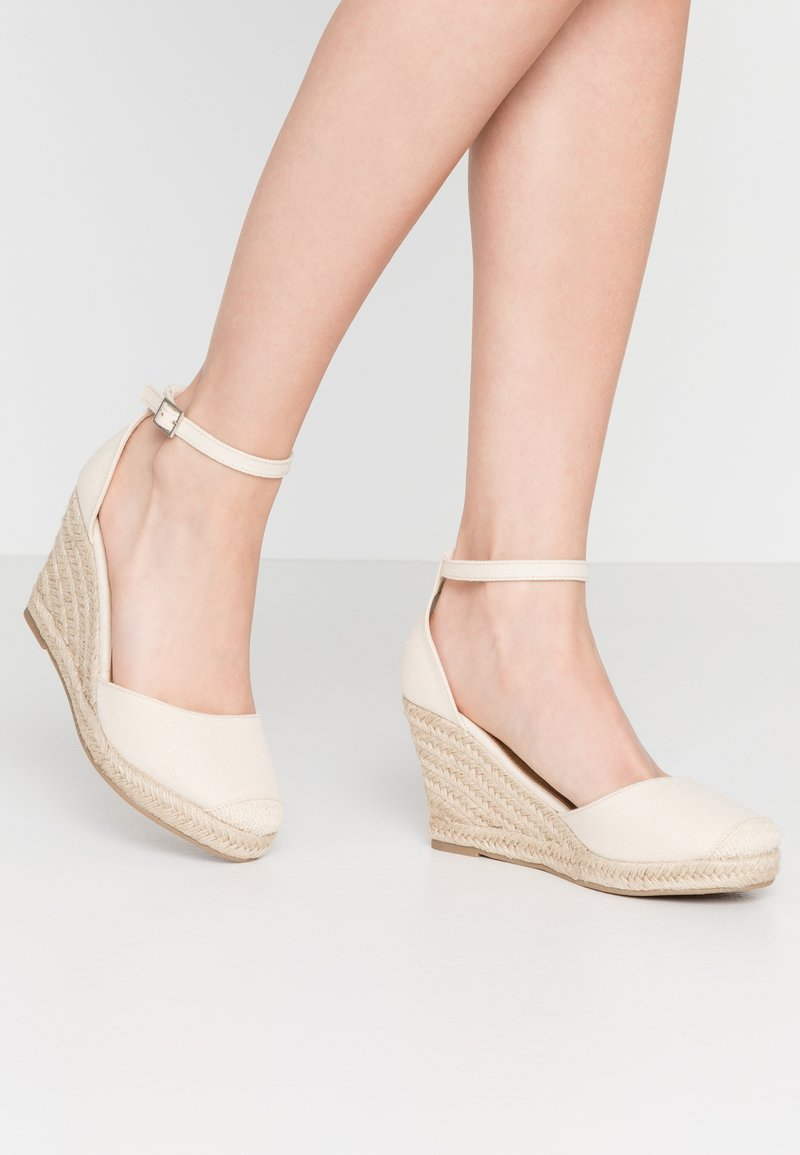 Rubi Shoes by Cotton On - FLORENCE CLOSED TOE  - Hoge hakken - stone