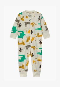 Lindex - MULTI ANIMAL UNISEX - Pyjamas - light dusty white - 0