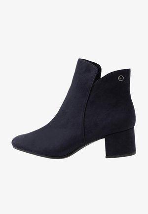 WOMS - Kotníková obuv - navy