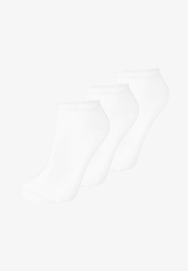 SNEAKER WOMEN 3 PACK - Sokken - weiss