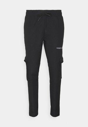 NAAPOLLO - Cargo trousers - black