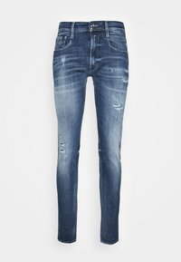 Replay - ANBASS AGED - Jeans slim fit - medium blue - 4
