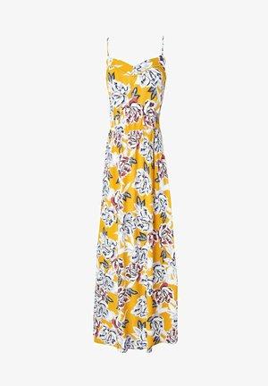 LONGUE ROBE  - Robe longue - imprimé jaune